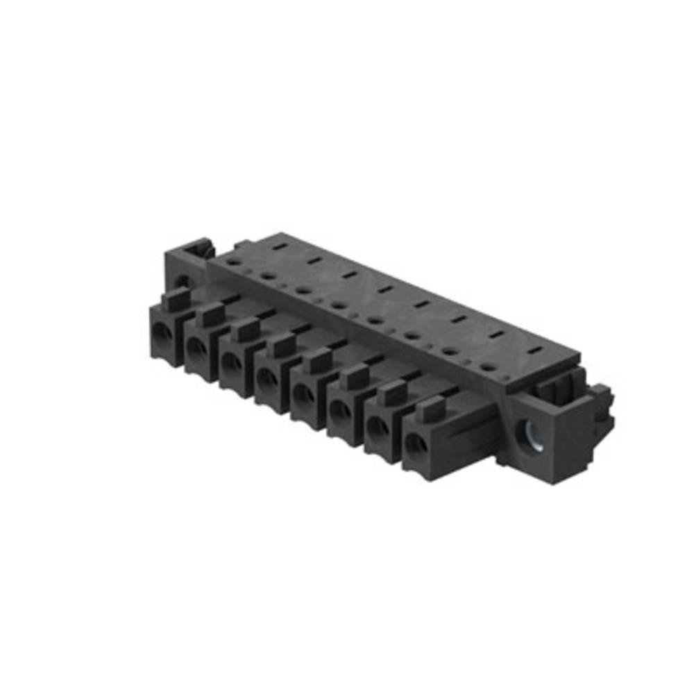 Tilslutningskabinet-printplade BC/SC (value.1360601) Samlet antal poler 3 Weidmüller 1028730000 Rastermål: 3.81 mm 50 stk