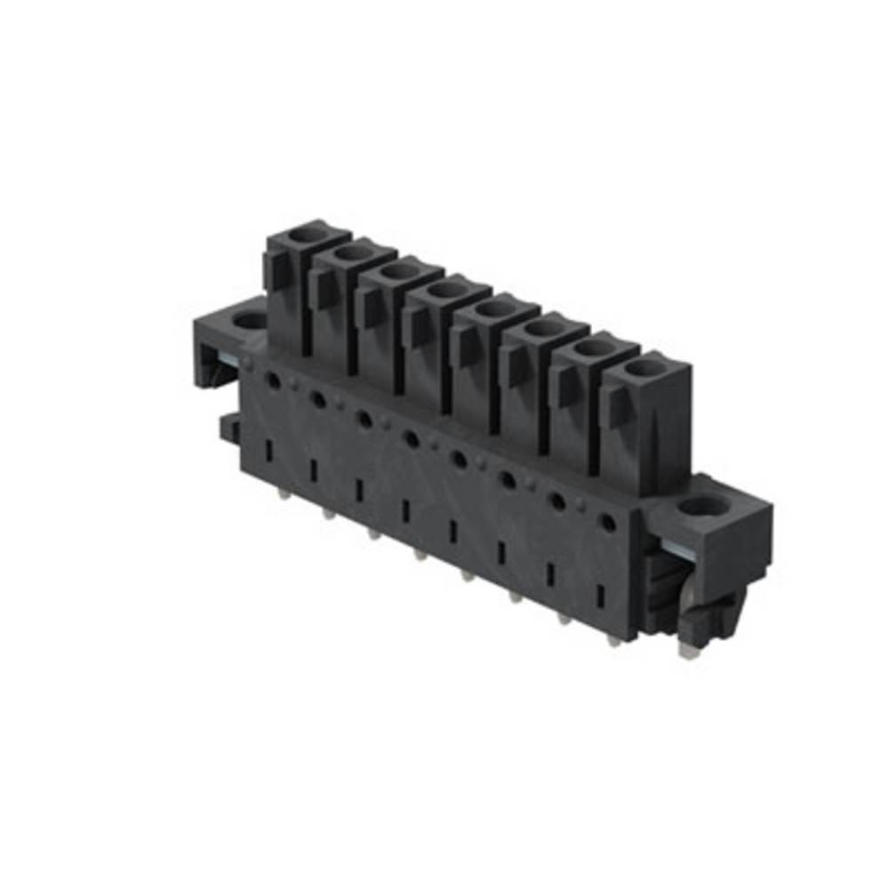 Tilslutningskabinet-printplade BC/SC (value.1360601) Samlet antal poler 11 Weidmüller 1029360000 Rastermål: 3.81 mm 50 stk