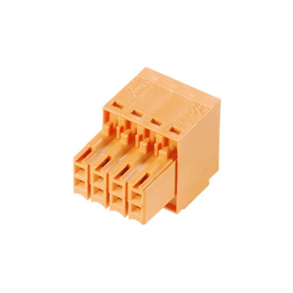 Tilslutningskabinet-kabel B2L/S2L 3.50 Samlet antal poler 10 Weidmüller 1727580000 Rastermål: 3.50 mm 102 stk