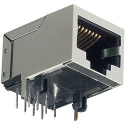 Modularna ugradbena utičnica, sive boje TRU Components 1582436 1 kom.