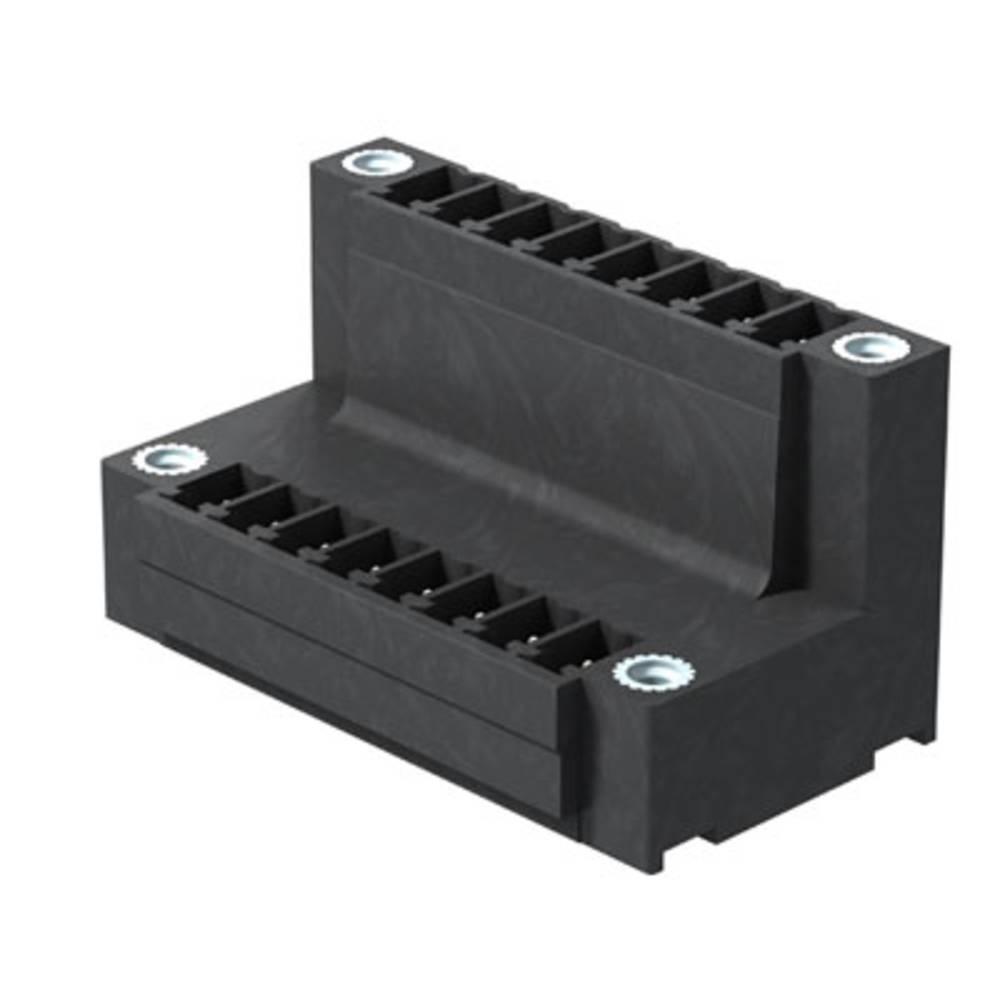 Vtični konektor za tiskana vezja črne barve Weidmüller 1035380000 vsebuje: 50 kosov