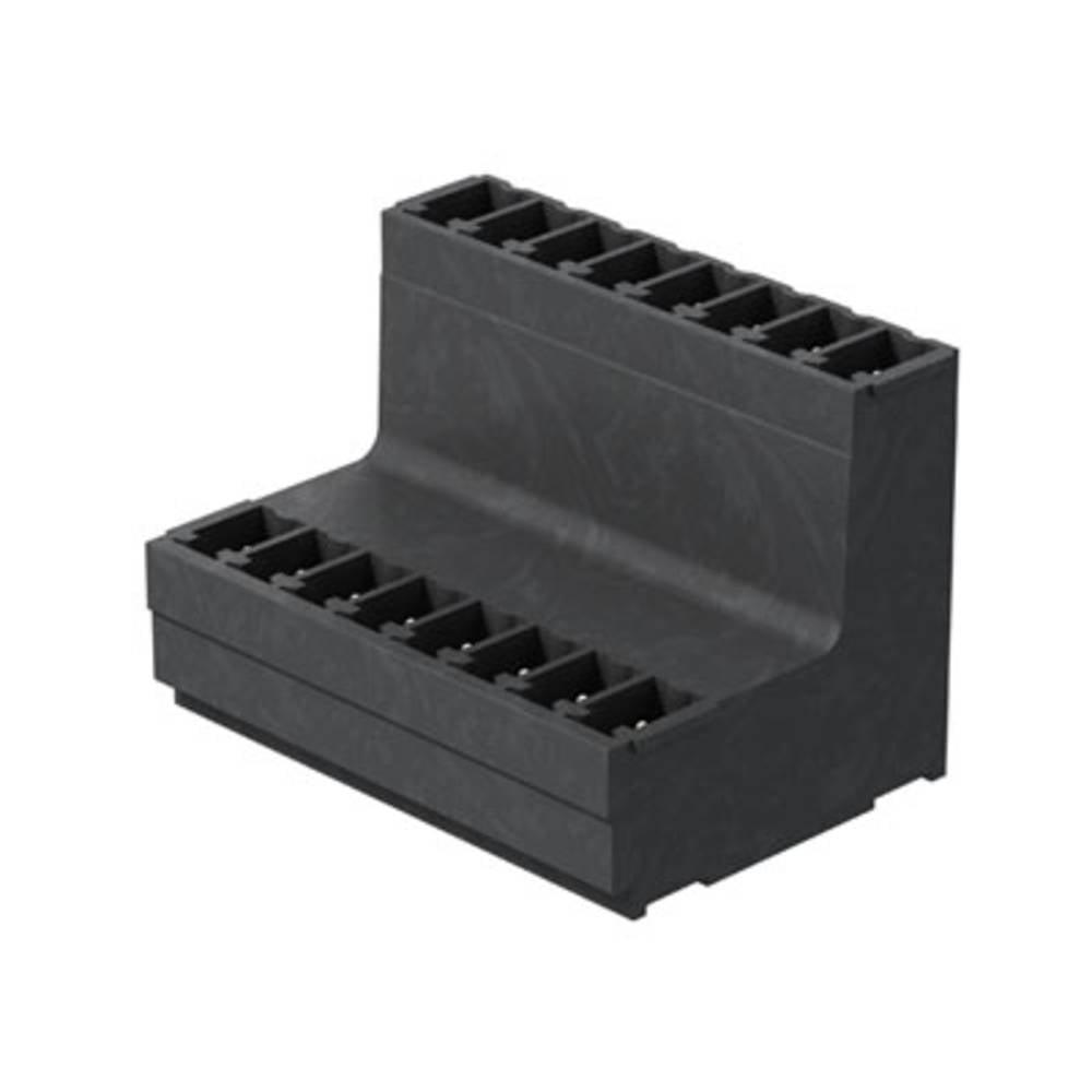 Vtični konektor za tiskana vezja črne barve Weidmüller 1035510000 vsebuje: 50 kosov