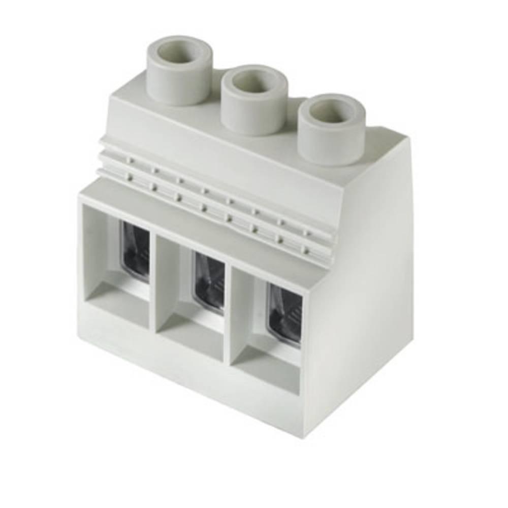 Skrueklemmeblok Weidmüller LXXX 15.00/01/90 4.5SN GY BX 35.00 mm² Poltal 1 Grå 20 stk