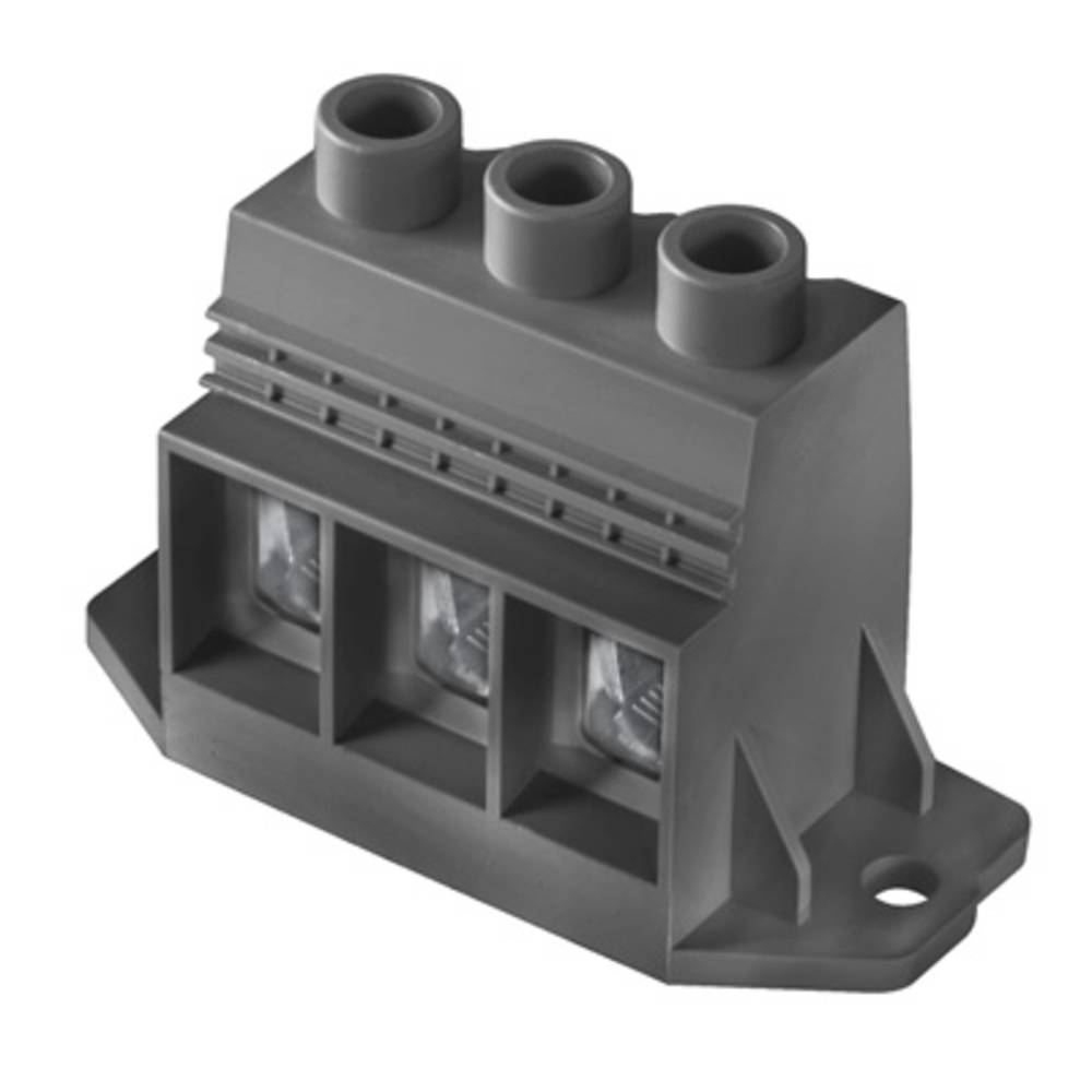 Skrueklemmeblok Weidmüller LXXX 15.00/03/90F 4.5SN BK BX 35.00 mm² Poltal 3 Sort 10 stk
