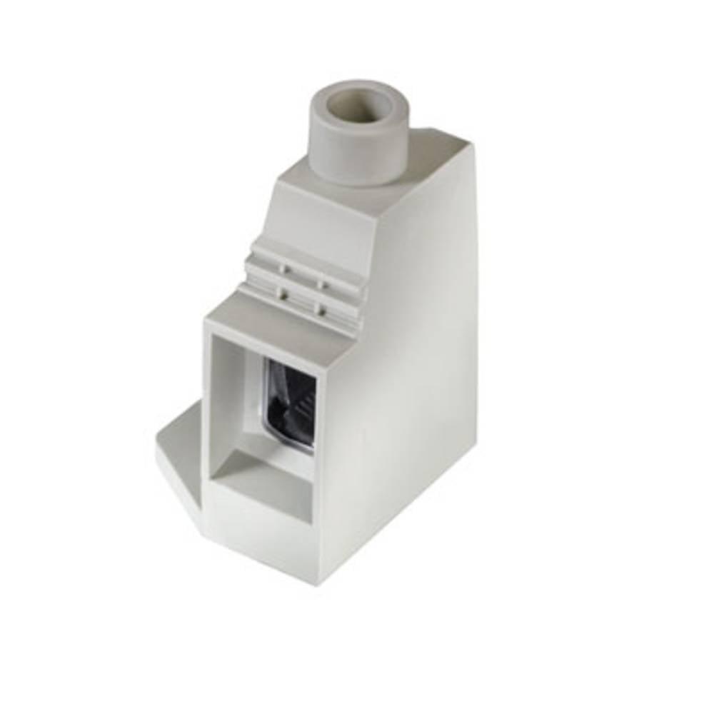Skrueklemmeblok Weidmüller LXXX 15.00/01/90FL 4.5SN GY BX 35.00 mm² Poltal 1 Grå 20 stk