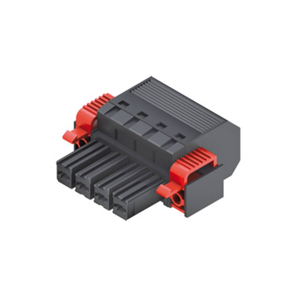 Tilslutningskabinet-kabel Samlet antal poler 5 Weidmüller 1060480000 Rastermål: 7.62 mm 25 stk