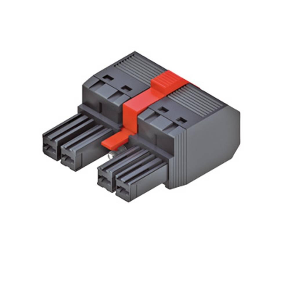 Tilslutningskabinet-kabel Samlet antal poler 5 Weidmüller 1060680000 Rastermål: 7.62 mm 30 stk