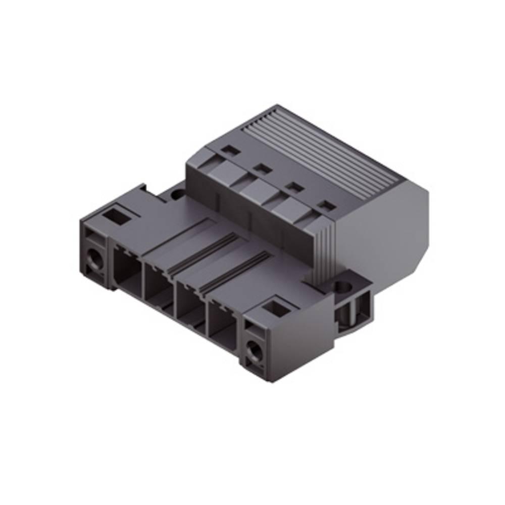 Stiftkabinet-kabel Samlet antal poler 2 Weidmüller 1060900000 Rastermål: 7.62 mm 50 stk