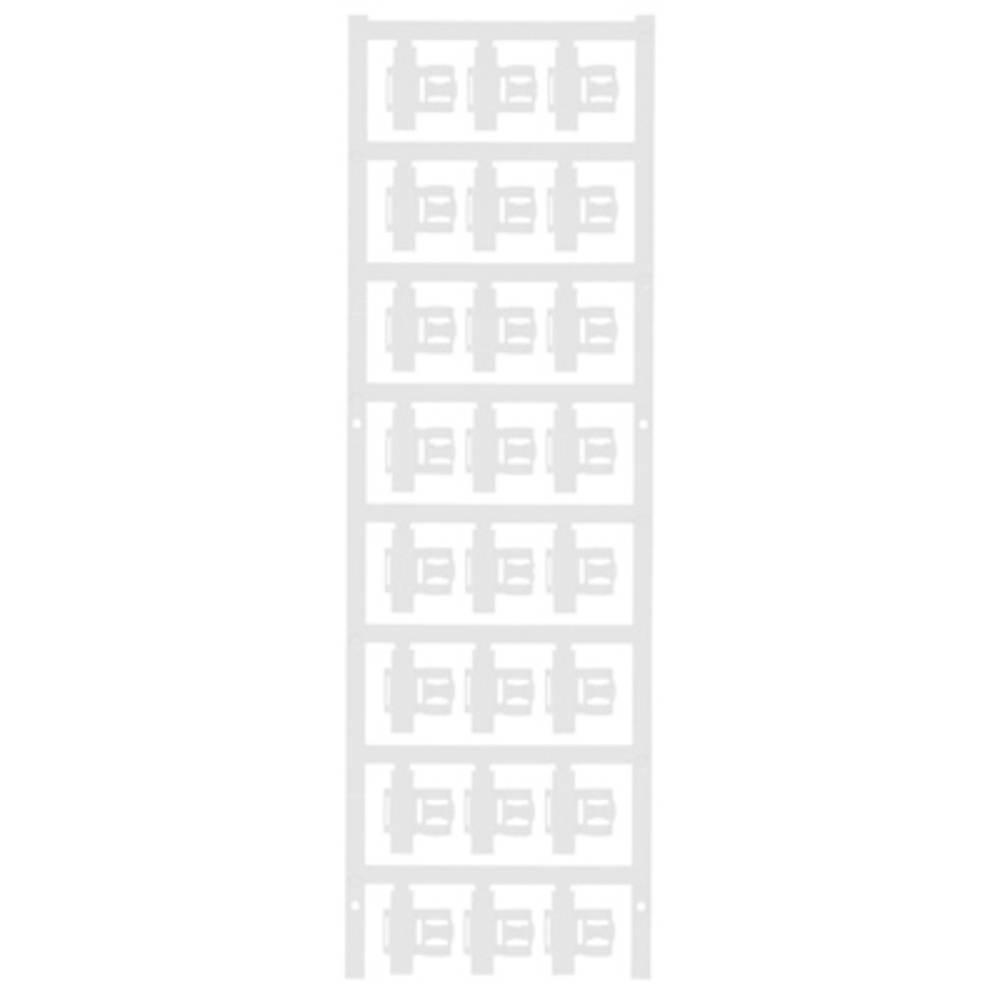 Markeringsophæng Weidmüller SFC 2.5/21 MC NE WS 1062050000 120 stk Antal markører 120 Hvid