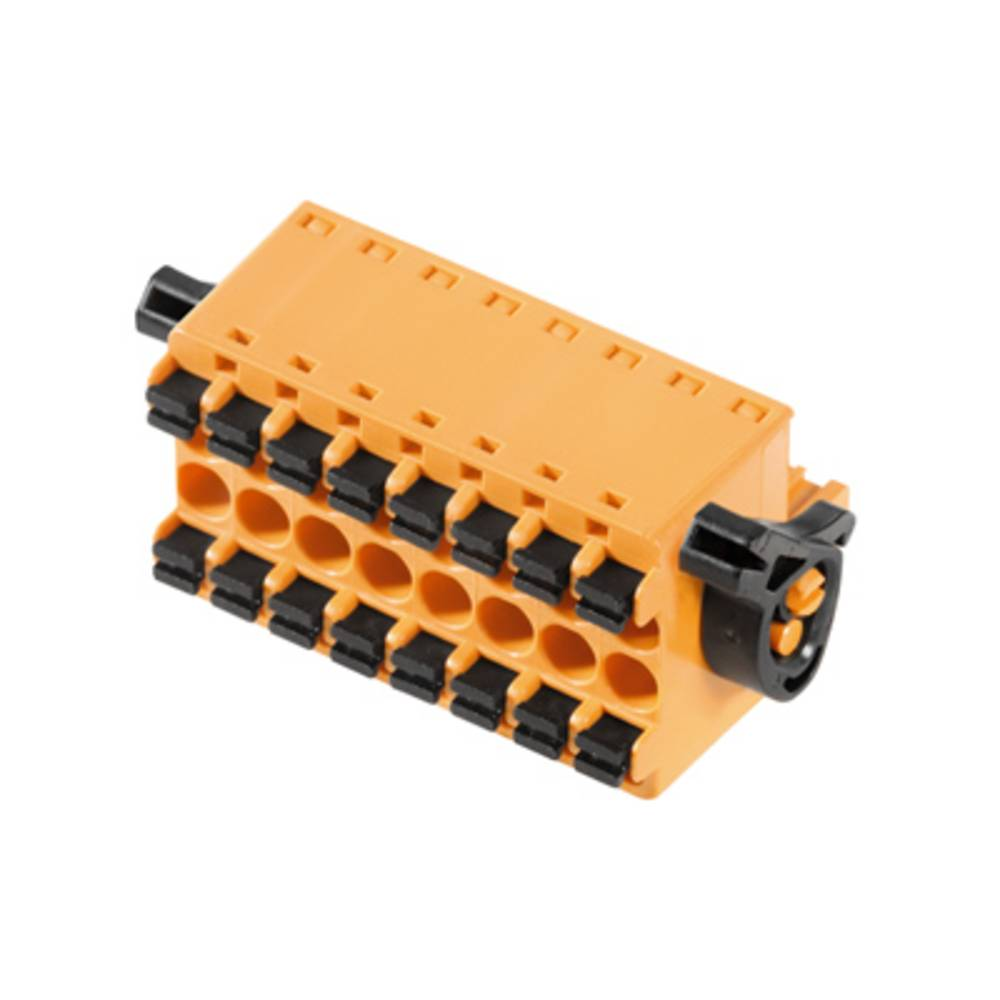 Tilslutningskabinet-kabel BL/SL (value.1360602) Samlet antal poler 8 Weidmüller 1065190000 Rastermål: 5.08 mm 24 stk