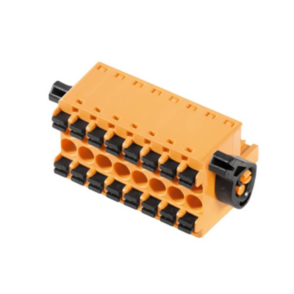 Tilslutningskabinet-kabel BL/SL Samlet antal poler 8 Weidmüller 1065270000 Rastermål: 5.08 mm 24 stk