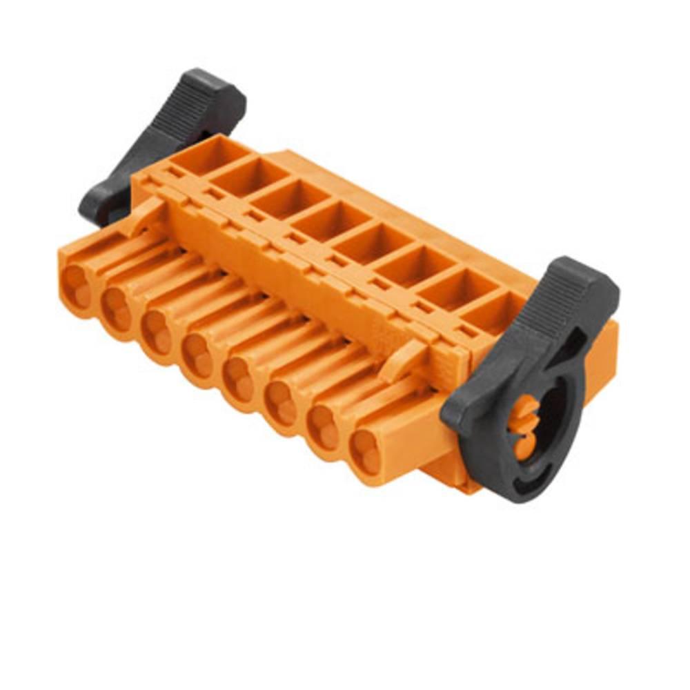 Tilslutningskabinet-kabel BL/SL (value.1360602) Samlet antal poler 17 Weidmüller 1087400000 Rastermål: 5.08 mm 18 stk