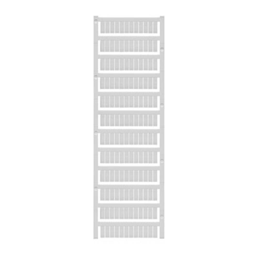 Enhed markører MultiCard WS 12/5 MC NEUTRAL 1609860000 Hvid Weidmüller 720 stk