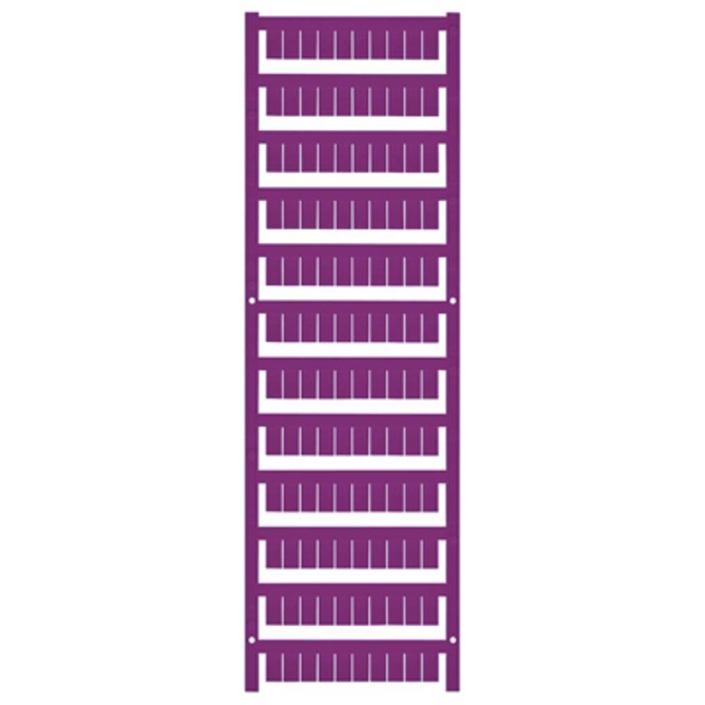 Enhed markører MultiCard WS 10/6 MC MIDDLE VI 1069090000 Violet Weidmüller 600 stk