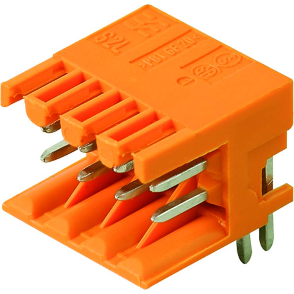 Vtični konektor za tiskana vezja črne barve Weidmüller 1807550000 vsebuje: 235 kosov