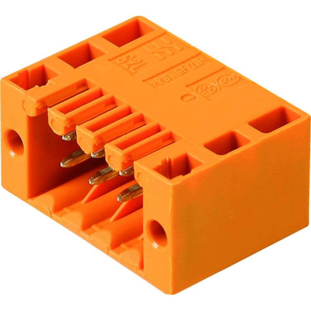 Vtični konektor za tiskana vezja črne barve Weidmüller 1807620000 vsebuje: 235 kosov