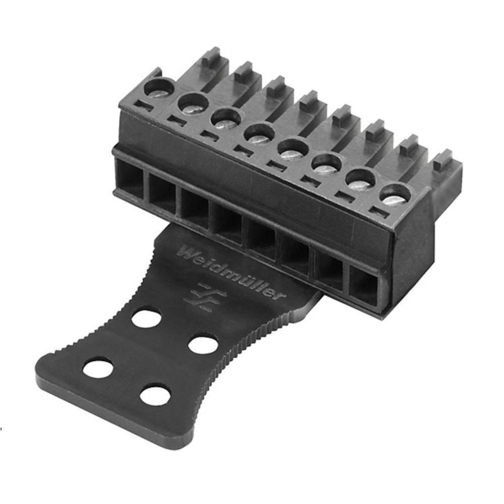 Tilslutningskabinet-kabel BC/SC (value.1360601) Samlet antal poler 6 Weidmüller 1071960000 Rastermål: 3.81 mm 50 stk