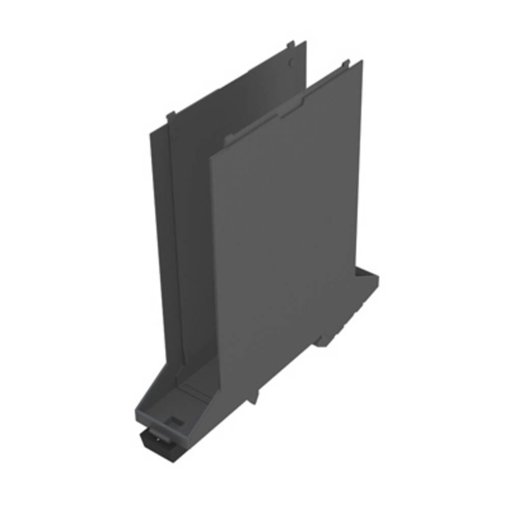 DIN-skinne-hus basiselement Weidmüller CH20M22 B GGY/BK 107.4 x 22.5 x 109.3 10 stk
