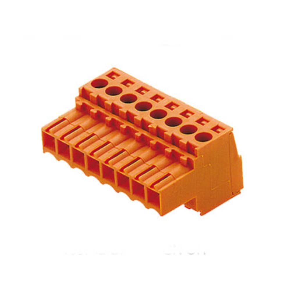 Vtični konektor za tiskana vezja Weidmüller 1077820000 vsebuje: 500 kosov