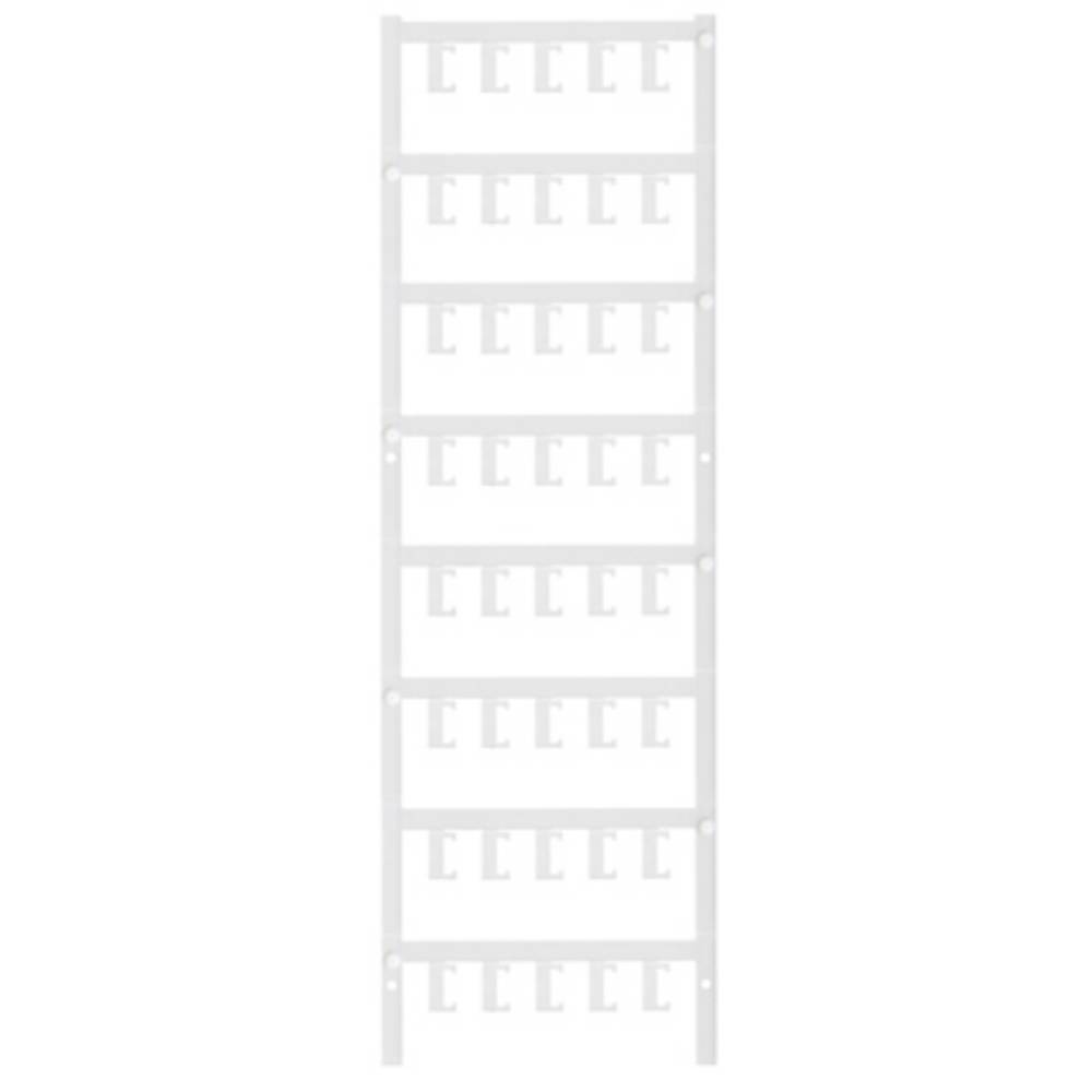 Makering af apparater Weidmüller ESG 6.6/15 BHZ 5.00/03 1082520000 200 stk Antal markører 200 Hvid