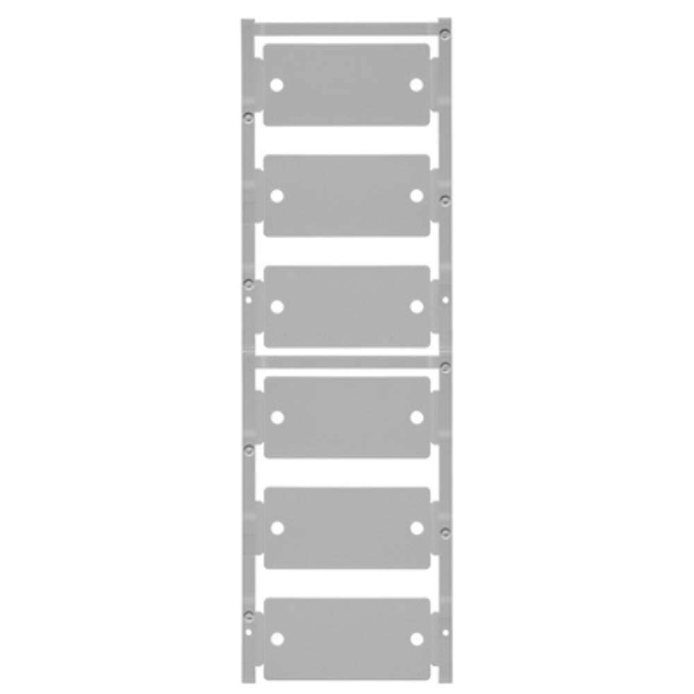 Označevalnik naprav, pritrditev s pripenjanjem, površina: 60 x 30 mm, primerno za naprave in stikalne naprave, univerzalna upora