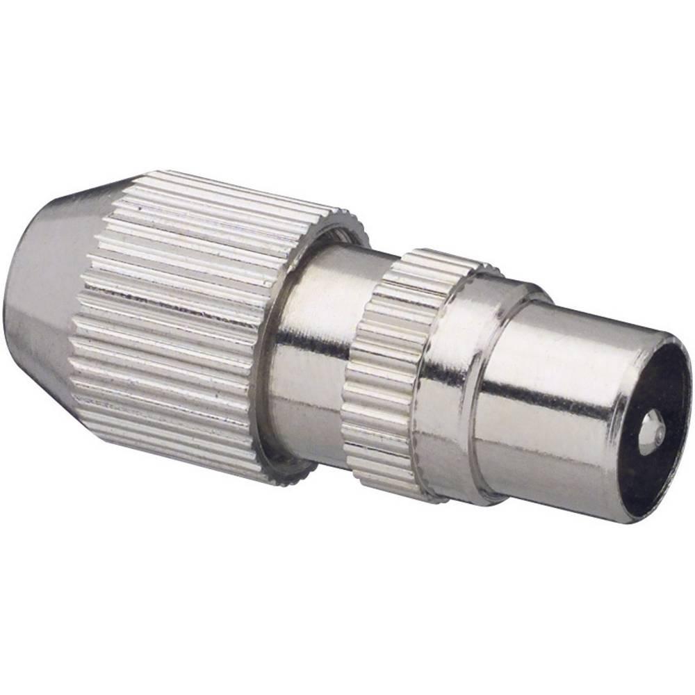 Koaksialni vtič-kovinski priključek