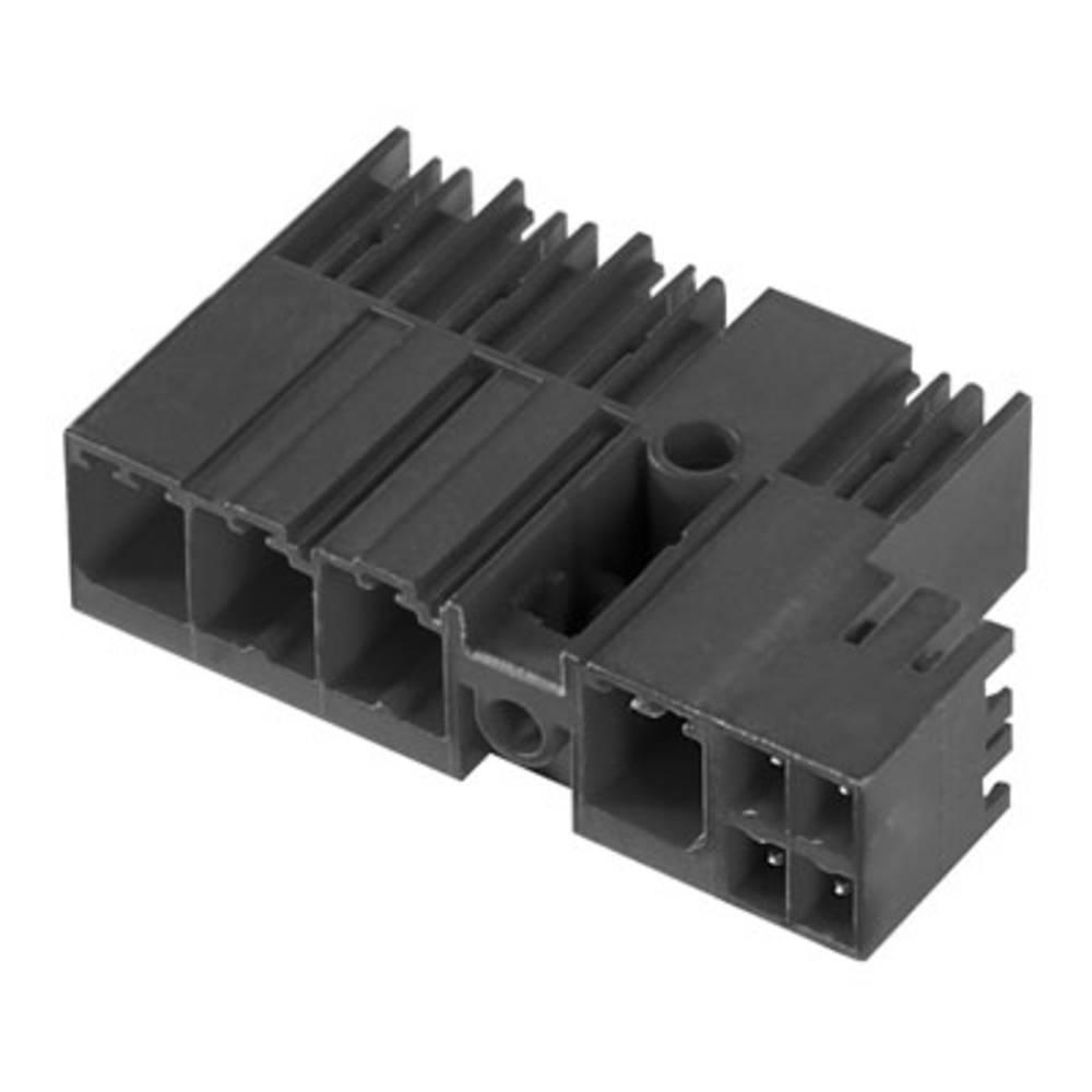 Vtični konektor za tiskana vezja črne barve Weidmüller 1090130000 vsebuje: 36 kosov