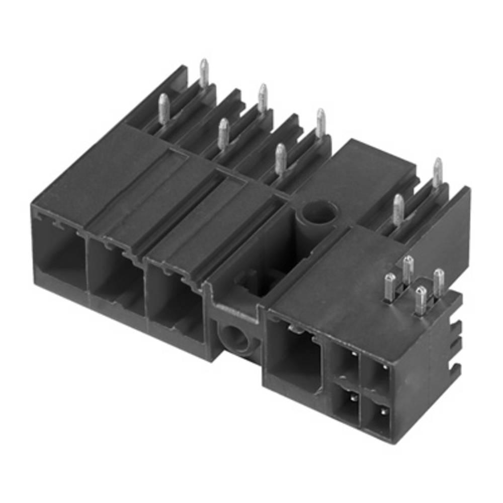 Vtični konektor za tiskana vezja črne barve Weidmüller 1089820000 vsebuje: 36 kosov