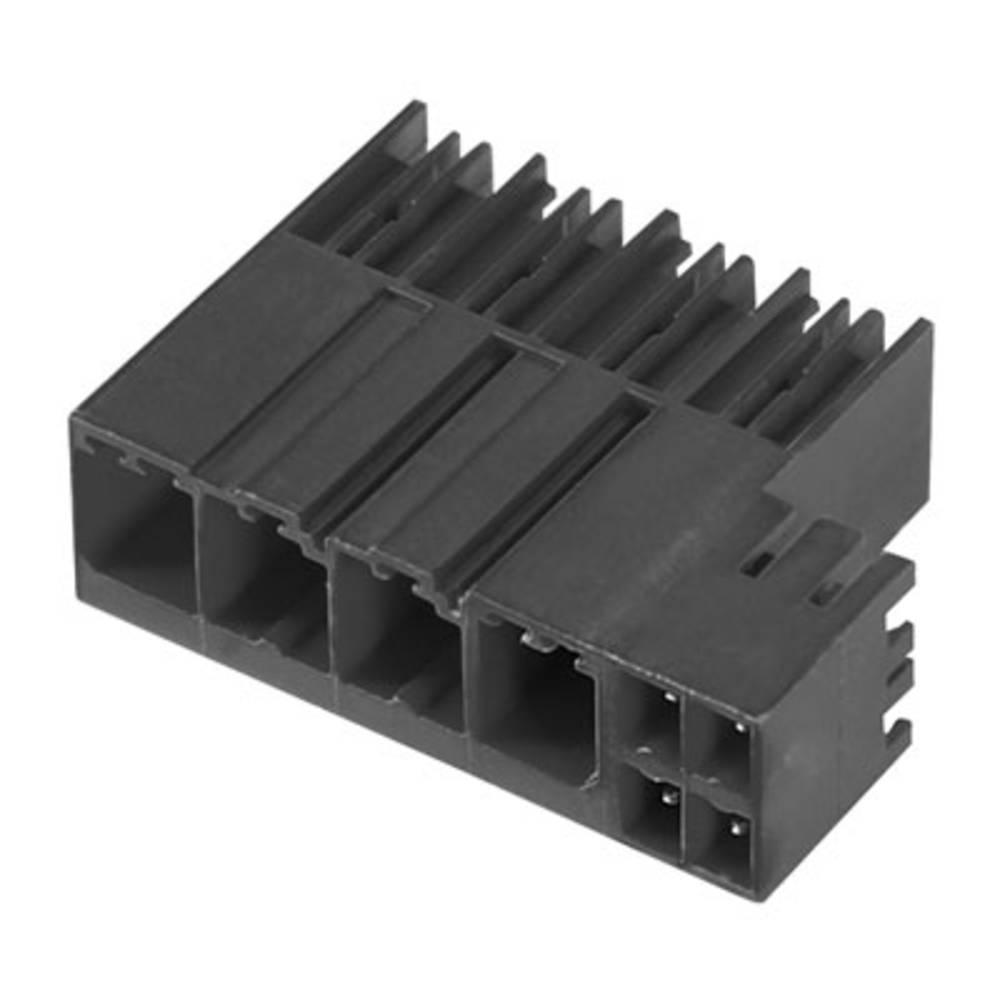 Vtični konektor za tiskana vezja črne barve Weidmüller 1090120000 vsebuje: 54 kosi