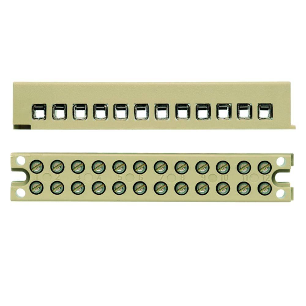 Multi-polet klemrække Weidmüller MK 3/4/E BL 1091630000 50 stk