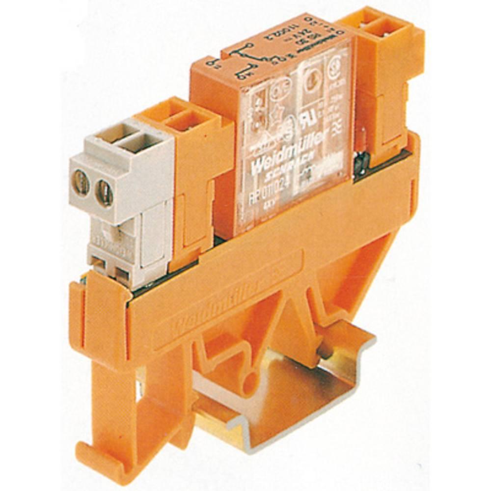 Relæprintplade 10 stk Weidmüller RS 30 12VDC BL/SL 1U 1 x skiftekontakt