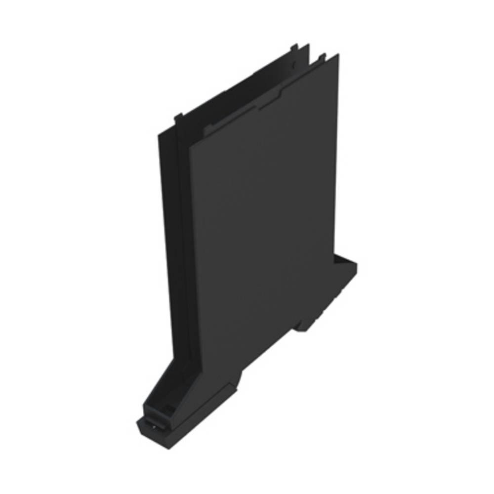 DIN-skinne-hus basiselement Weidmüller CH20M12 B BK/BK 107.4 x 12.5 x 109.3 14 stk