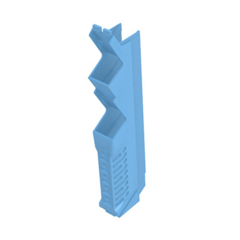 DIN-skinnekabinet sidedel Weidmüller CH20M12 S PPSC BL 105.49 x 12.5 x 22.83 14 stk