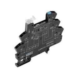 Relæsokkel 10 stk Weidmüller TRZ 12VDC 1CO EMPTY Passer til serie: Weidmüller serie TERMSERIES (B x H x T) 6.4 x 90 x 88 mm