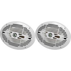 Marin-högtalare SpeaKa Professional 150 W 4 Ohm Vit 1 par