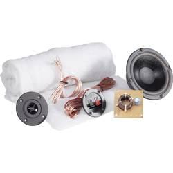 2-vägs högtalare byggsats SpeaKa Professional Kit 1 inkl. isolering, inkl. Delningsfilter, inkl. kabel