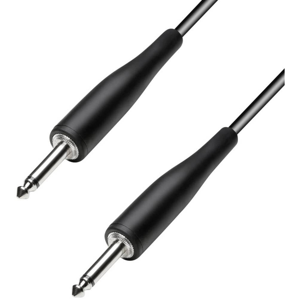 Instrument Kabel [1x Teleplugg 6.35 mm - 1x Teleplugg 6.35 mm] 6 m Svart Paccs HIC23BK060SD