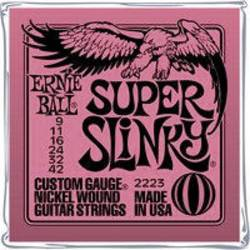 E-guitar-streng Ernie Ball EB2223 Super Slinky 009-042