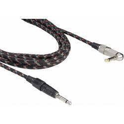 Instrument Kabel [1x Teleplugg 6.35 mm - 1x Teleplugg 6.35 mm] 6 m Flerfärgad Paccs Retro