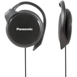 Športne naglavne slušalke Panasonic RP-HS46 On Ear ušesna zanka črne barve