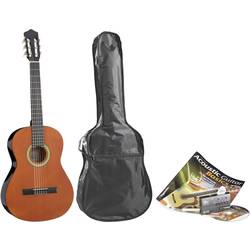 Akustisk gitarr paket Voggenreiter 4/4 Natur inkl. väska