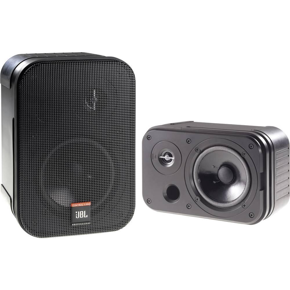 Monitorska zvočnika JBL Control 1 Pro, črne barve