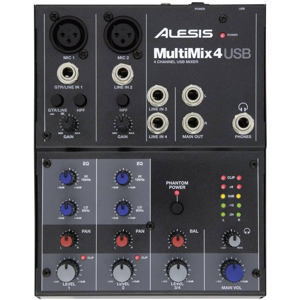 Mešalna miza Alesis Multimix 4USB
