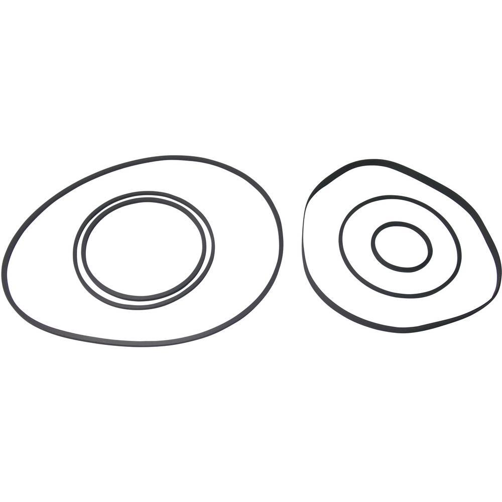 Komplet jermenov Video-Universal I, po 1 jermen s 24,5 x 1,80 mm, 53,5 x 1,90 mm itd.