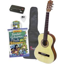 Akustisk gitarr paket Voggenreiter 1/2 Natur inkl. väska
