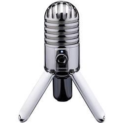 USB-studiomikrofon Samson Meteor Mic Silver Sladd inkl. kabel