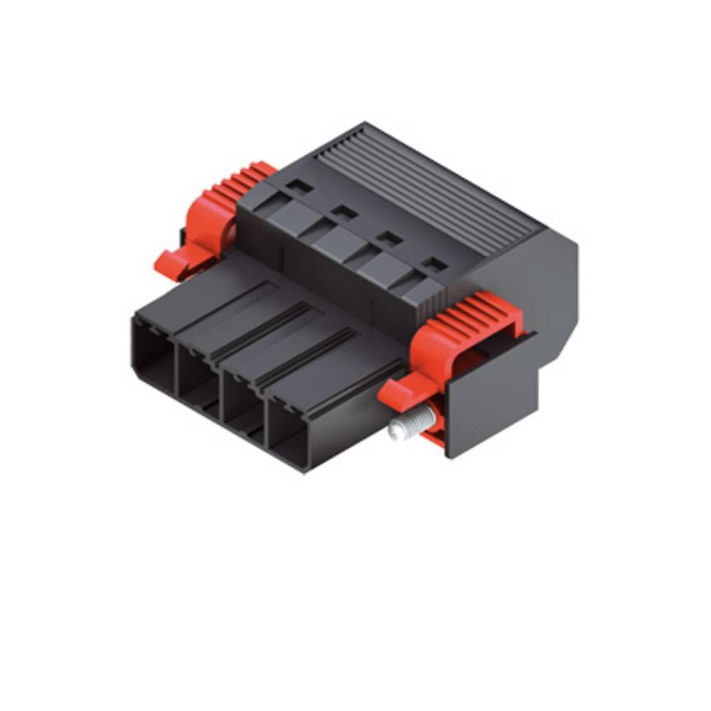 Tilslutningskabinet-kabel Samlet antal poler 5 Weidmüller 1124840000 Rastermål: 7.62 mm 25 stk