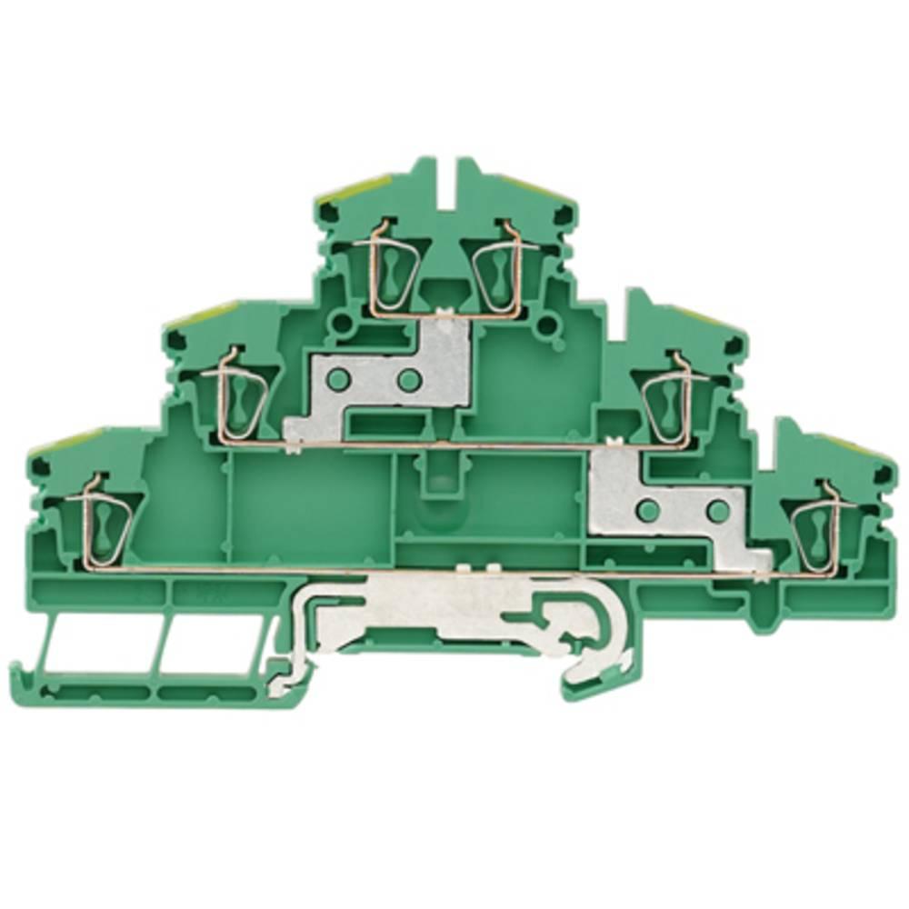 Multi-tier modulopbygget terminal Weidmüller ZDLD 2.5-2N PE 1131740000 50 stk