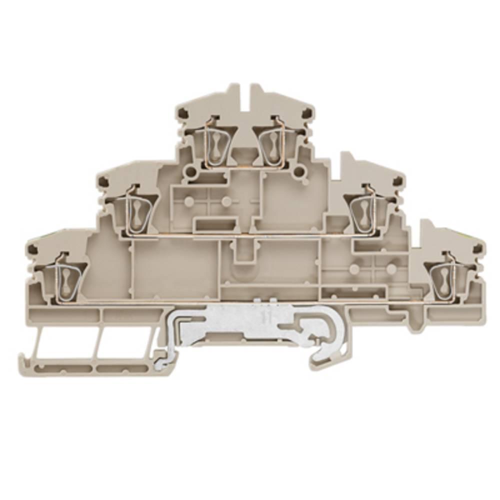 Multi-tier modulopbygget terminal Weidmüller ZDLD 2.5-2N/PE/L/L 1131750000 50 stk