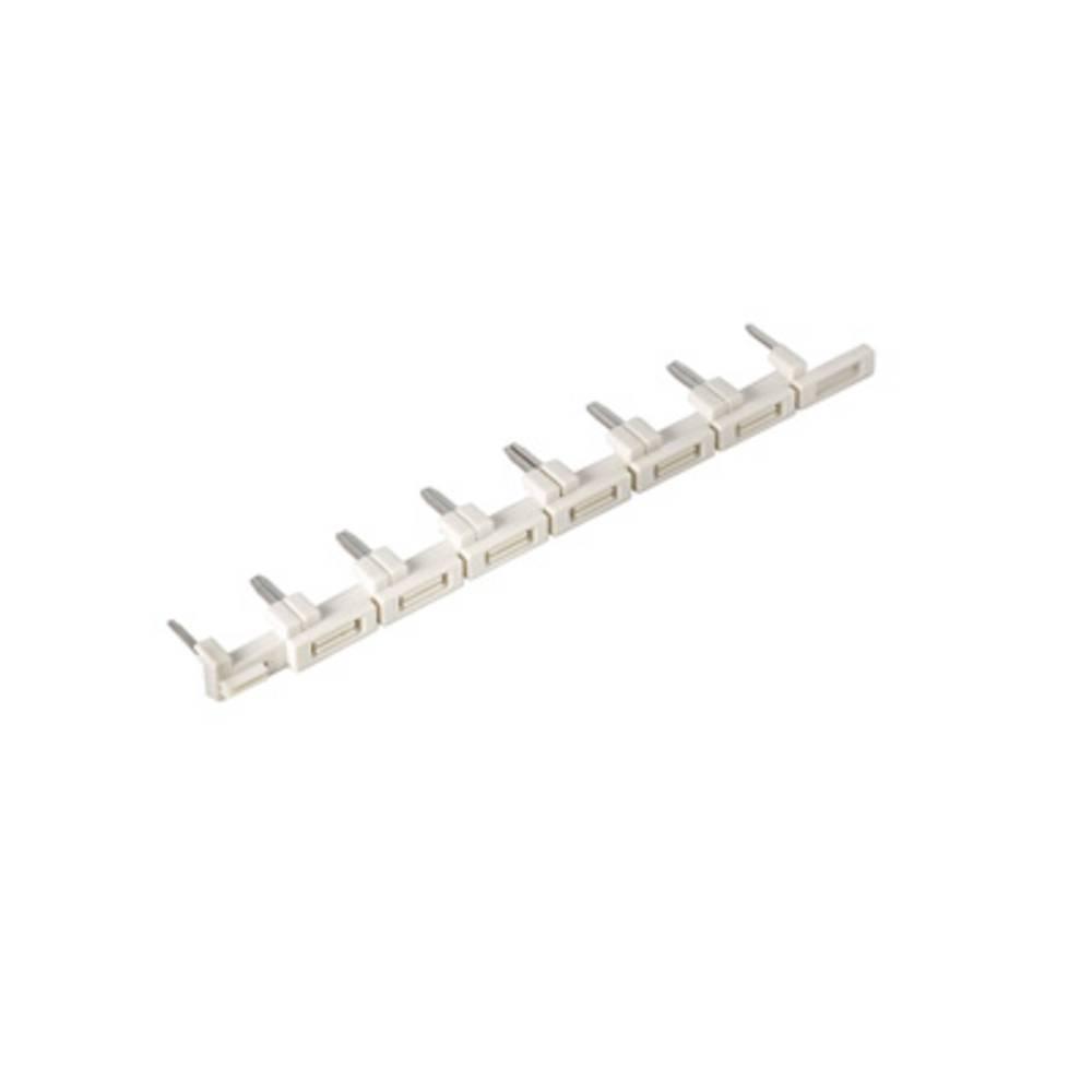 Kamrække Poltal: 8 Hvid 10 stk Weidmüller SRC-I QV S